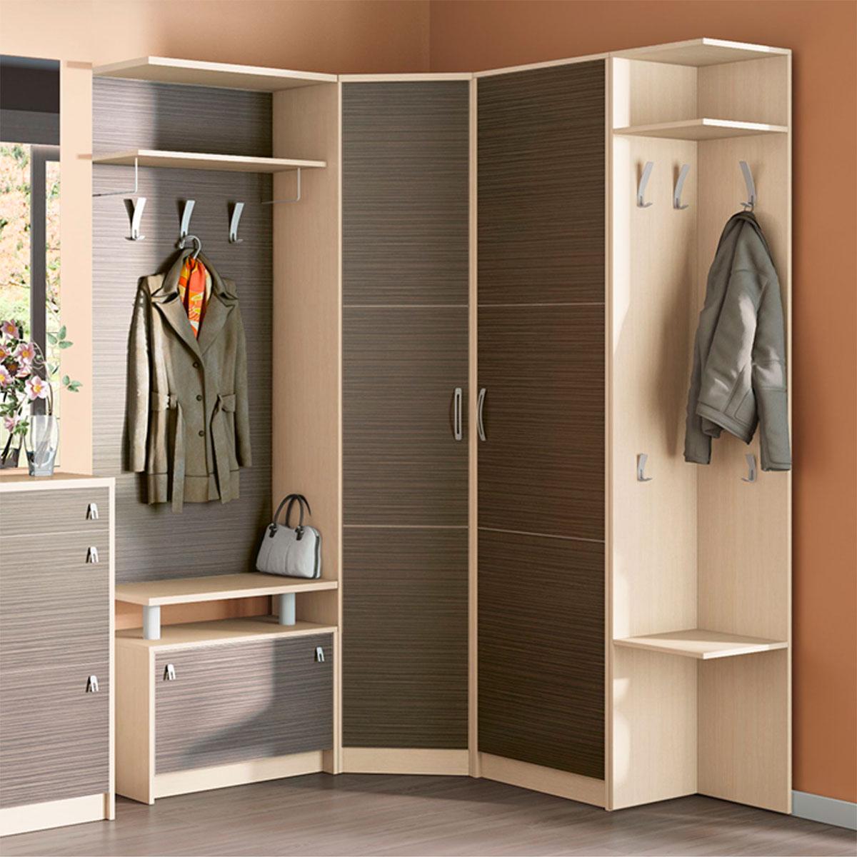 Мебель для прихожей угловая 7 под заказ в минске, возможна р.